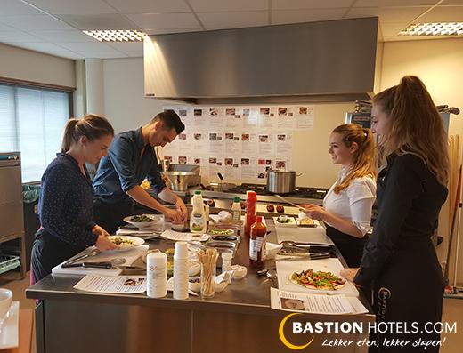 Werken bij bastion hotels vacature grillmanager kok 25 uur