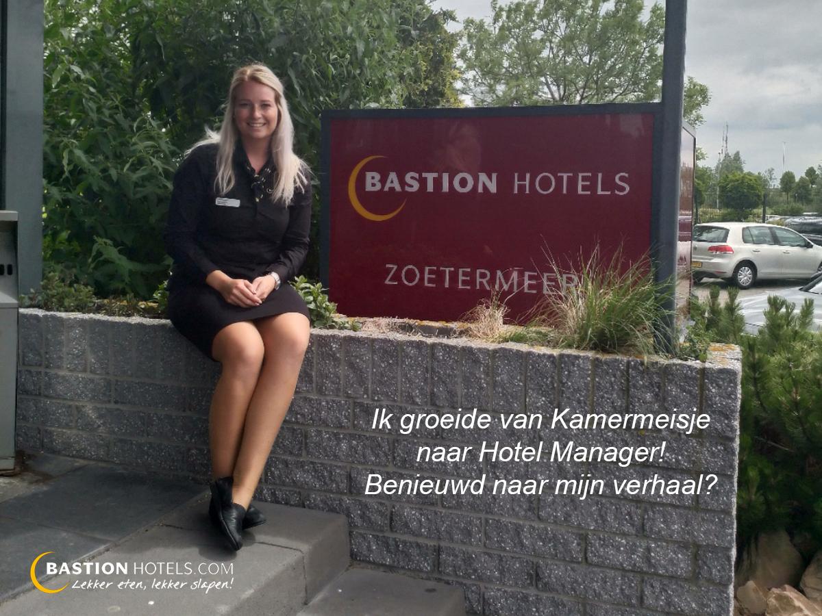 Werken bij bastion hotels charlotte groeide van kamermeisje naar